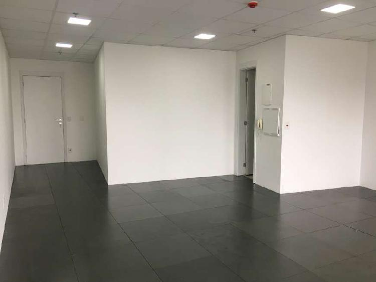 Sala comercial para alugar, 48 m² por r$ 2.500/mês cod.