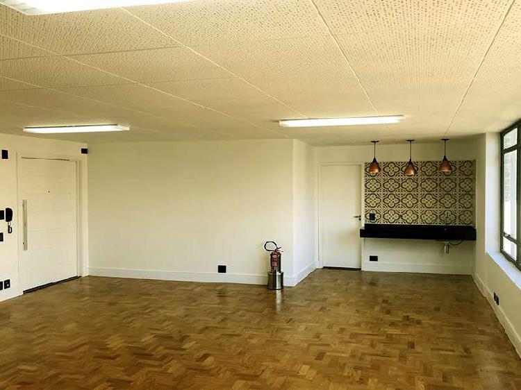 Sala comercial para alugar, 58 m² por r$ 2.700/mês cod.