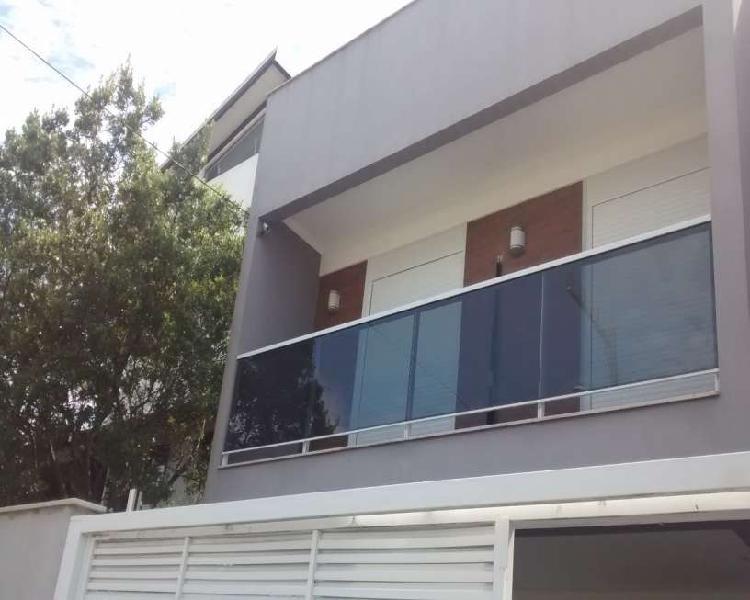 Sobrado com 2 quartos para alugar, 78 m² por r$ 2.500/mês