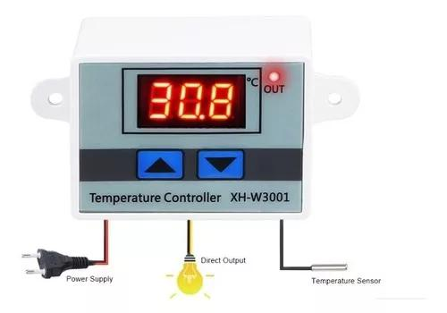 Termostato digital cervejeira geladeira freezer 110 220v 10a