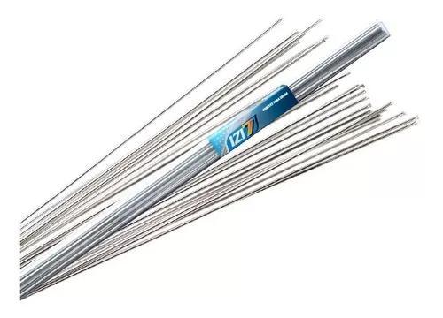 Vareta de solda alumínio izi 7 com fluxo 10 unidades