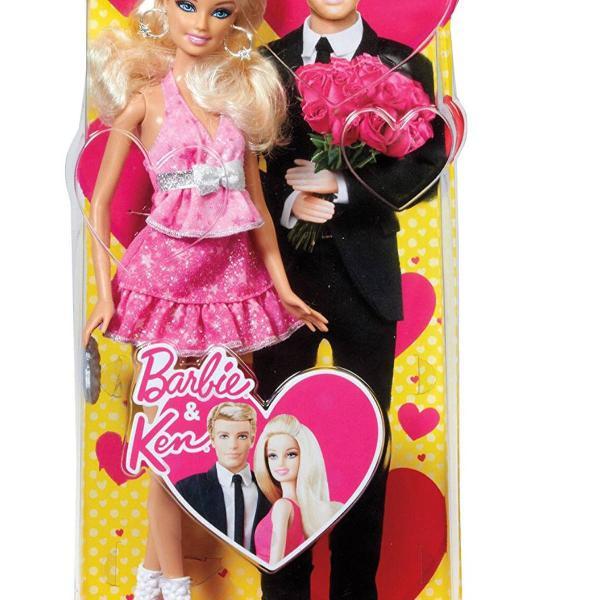 Barbie valentine doll mattel