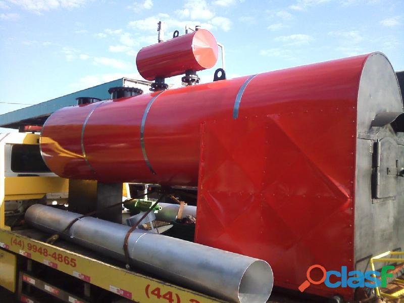 Caldeira 3.500 kg/h mod: aristi