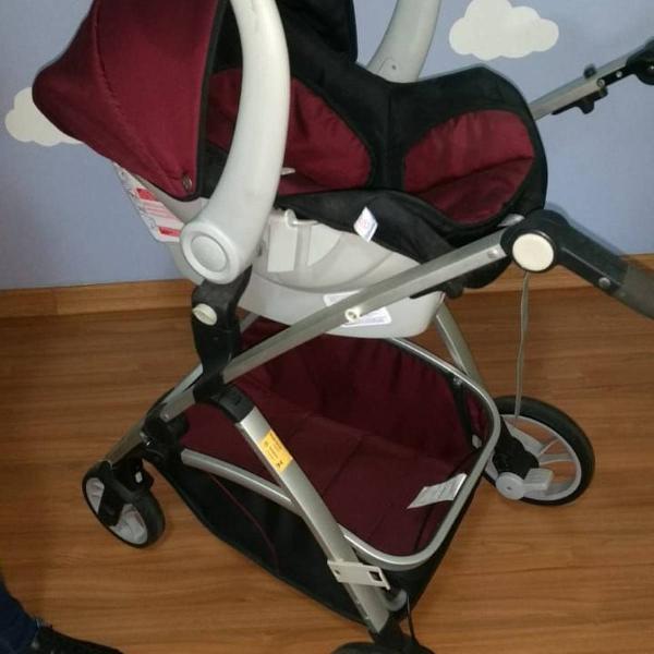 Carrinho +bebê conforto galzerano