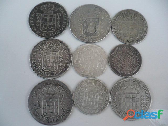 Compro moedas de prata entre 1.643 a 1848 pago r$2.800,00 o kg