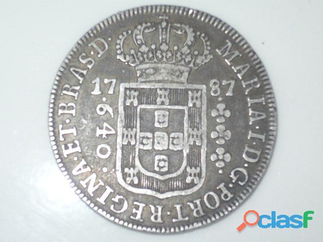 COMPRO MOEDAS DE PRATA ENTRE 1.643 A 1848 PAGO R$2.800,00 O KG 1