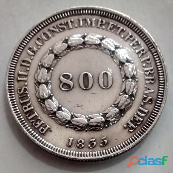 COMPRO MOEDAS DE PRATA ENTRE 1.643 A 1848 PAGO R$2.800,00 O KG 3