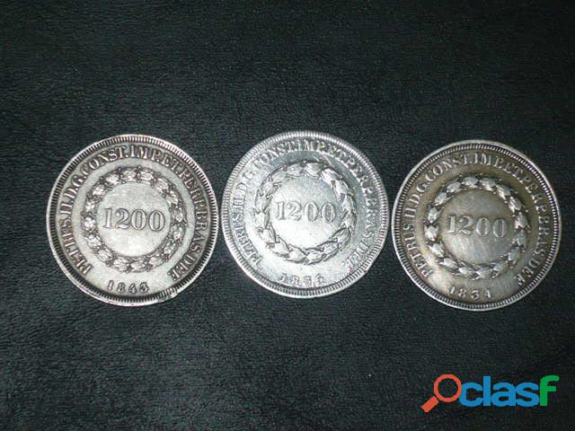 COMPRO MOEDAS DE PRATA ENTRE 1.643 A 1848 PAGO R$2.800,00 O KG 4