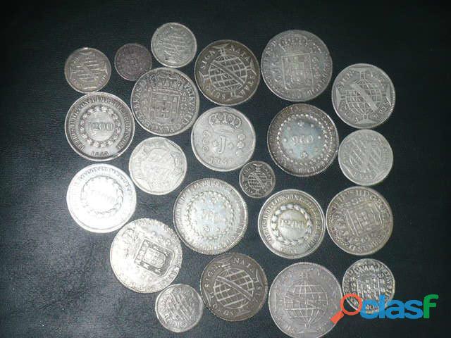 COMPRO MOEDAS DE PRATA ENTRE 1.643 A 1848 PAGO R$2.800,00 O KG 5