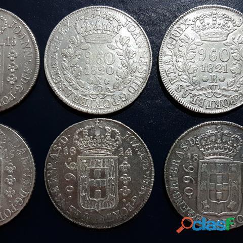 COMPRO MOEDAS DE PRATA ENTRE 1.643 A 1848 PAGO R$2.800,00 O KG 6