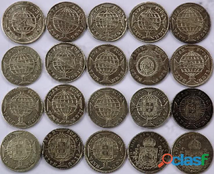 COMPRO MOEDAS DE PRATA ENTRE 1.643 A 1848 PAGO R$2.800,00 O KG 7