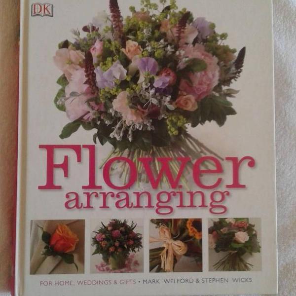 Flower arranging livro sobre arranjos florais para todas