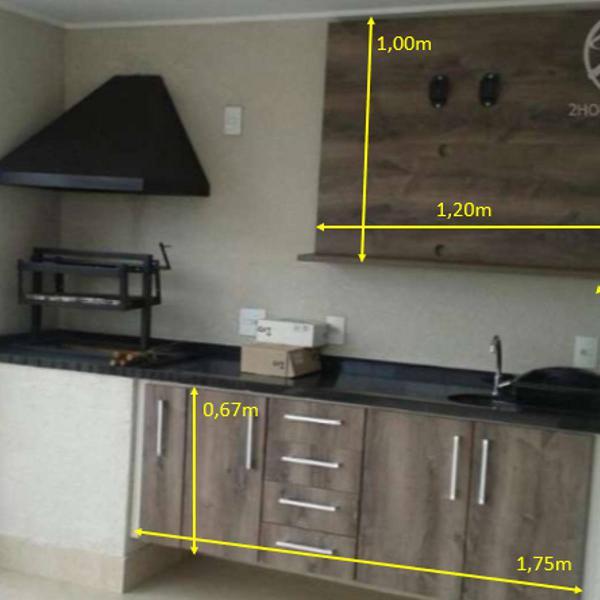 Gabinete + painel tv