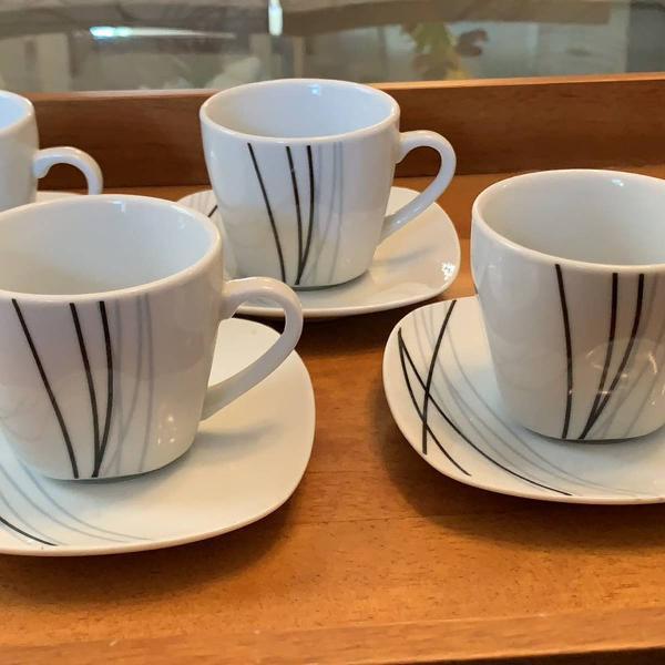 Jogo de café porcelana