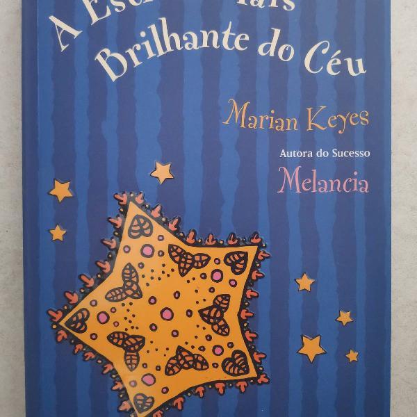 Livro a estrela mais brilhante do céu - marian keys