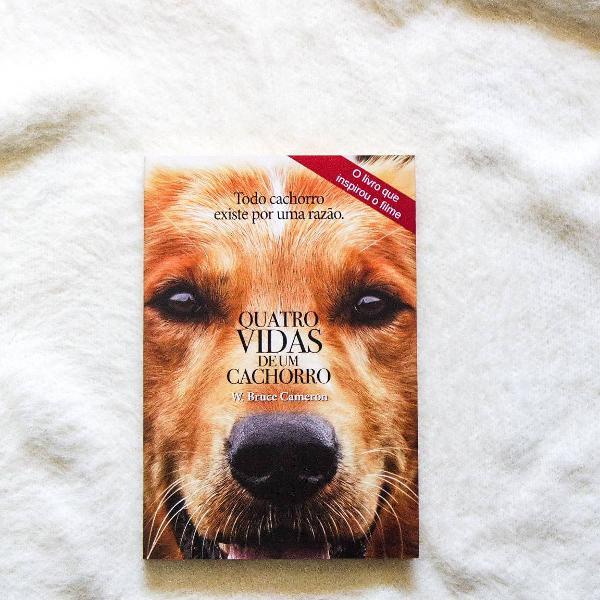 Livro quatro vidas de um cachorro - w. bruce cameron