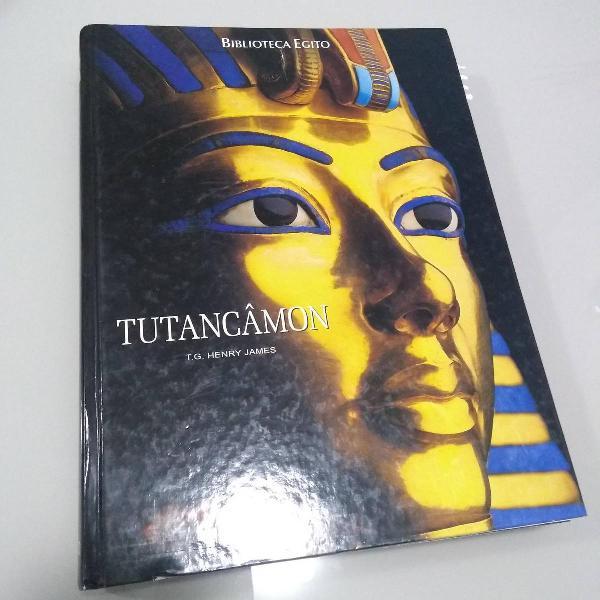 Livro tutancâmon - t.g. henry james