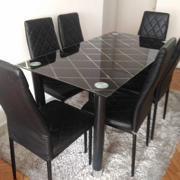 Mesa de jantar mais rack
