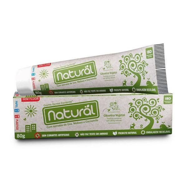 Natural orgânico - creme dental natural