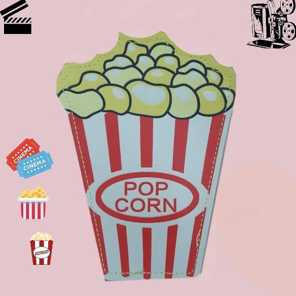 Porta moedas pop corn
