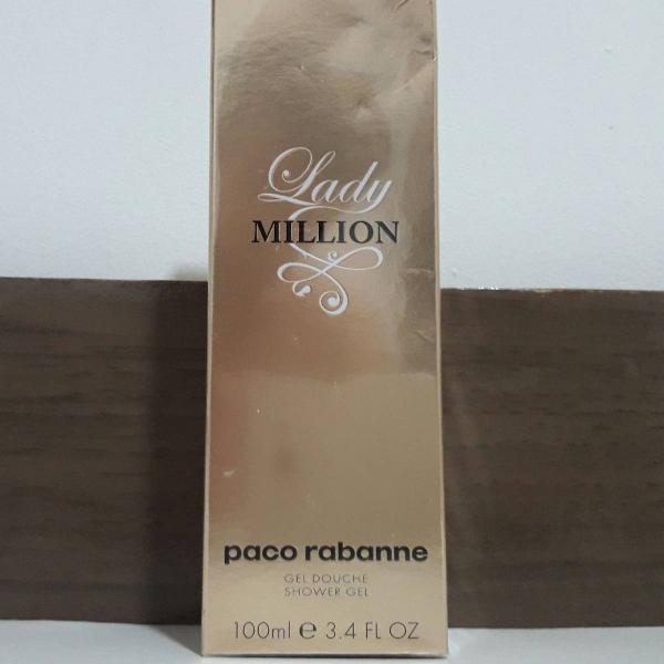 Shower gel lady million