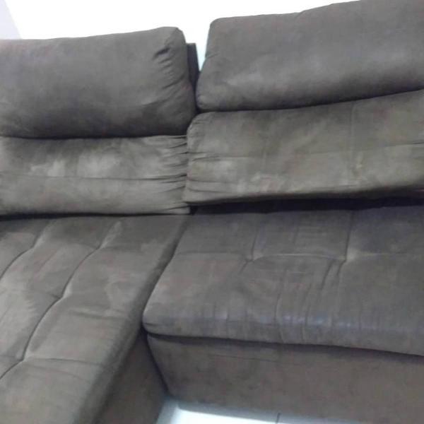 Admirable Sofa Retratil 4 Lugares Em Sao Jose Ofertas Outubro Pdpeps Interior Chair Design Pdpepsorg