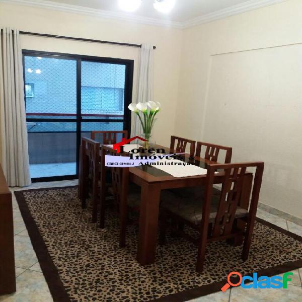 Apartamento 3 dormitórios guilhermina praia grande!