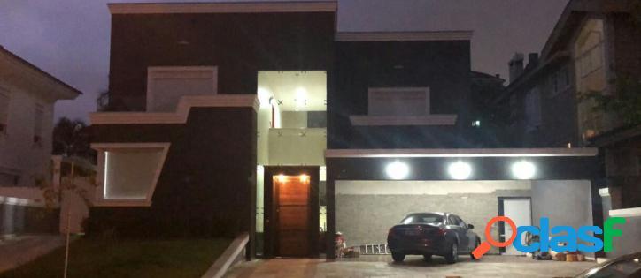 Casa no condominio residencial melville em alphaville