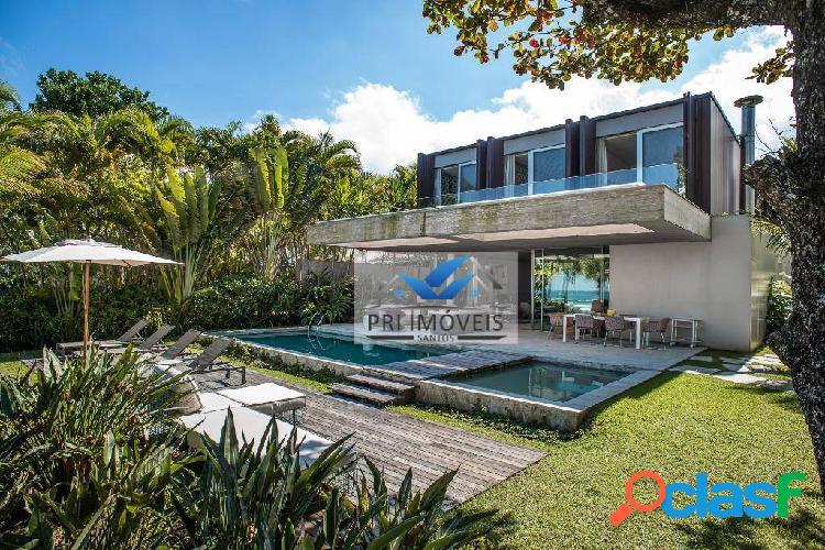 Casa à venda, 675 m² por r$ 26.000.000,00 - praia da baleia - são sebastião/sp