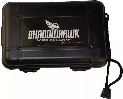 2 lanterna tática shadowhank x900 original caixa+ 1bat