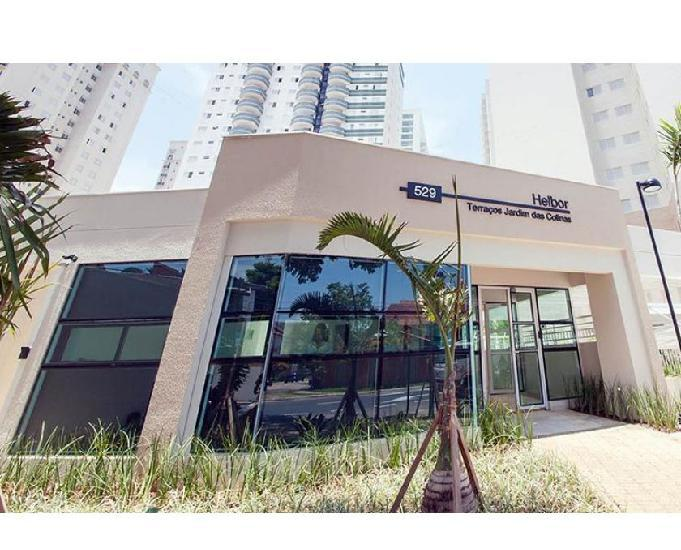 Apartamento a venda, com 3 quartos, 125 m² hebor terraços