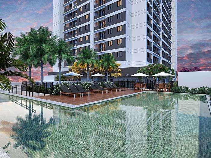 Apartamento com 2 quartos à venda, 43 m² por r$ 239.900