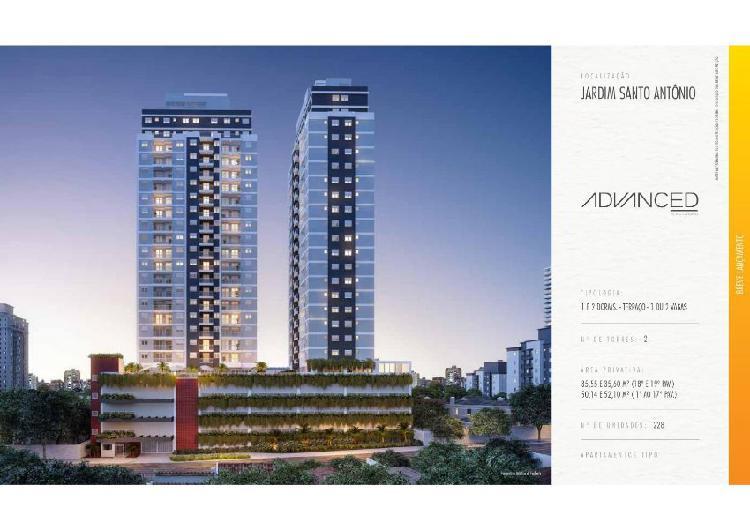 Apartamento com 2 quartos à venda, 50 m² por r$ 225.900