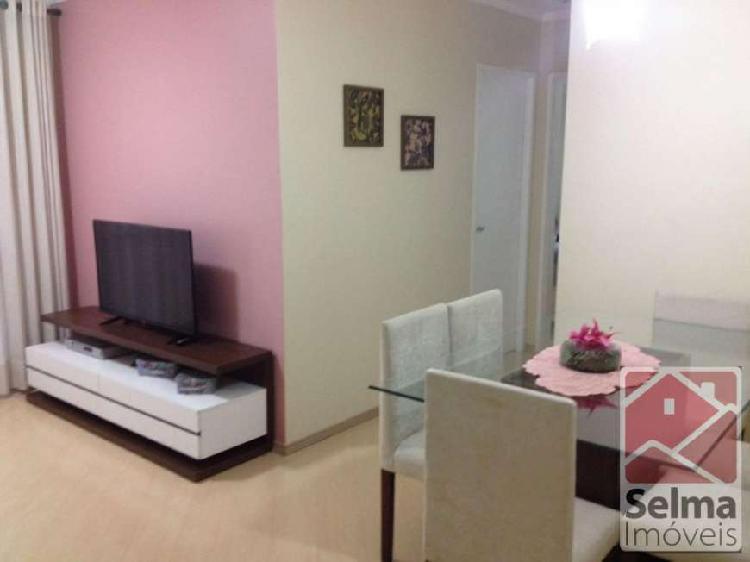 Apartamento com 2 quartos à venda, 55 m² por r$ 295.000