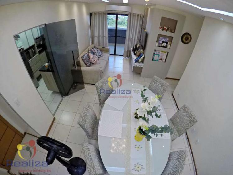 Apartamento com 3 quartos à venda, 85 m² por r$ 360.000