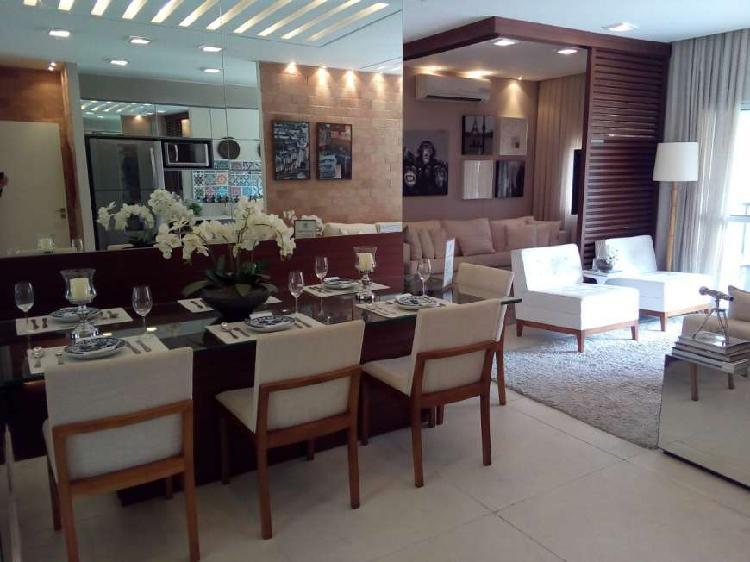 Apartamento com 3 quartos à venda, 90 m² por r$ 499.000