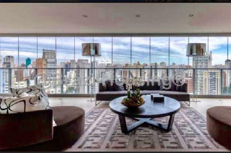 Apartamento com 4 quartos à venda, 421 m² por r$