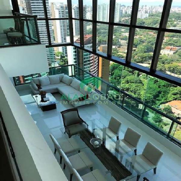 Apartamento com 5 quartos à venda, 300 m² por r$ 3.300.000