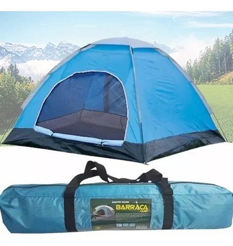 Barraca acampamento impermeável 2 pessoas camping