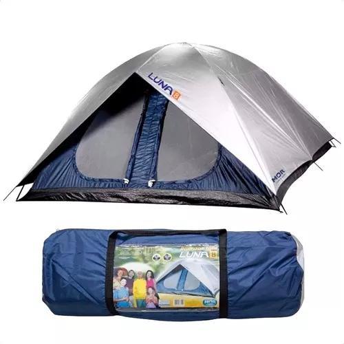 Barraca camping 8 pessoas gigante iglu luna mor