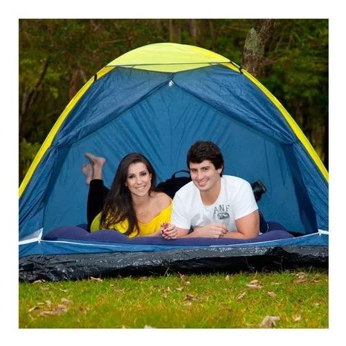 Barraca camping iglu 4 pessoas (frete gratis) 2,10x2,10x1,30