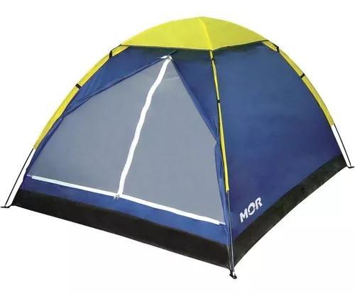 Barraca camping impermeável iglu 2 pessoas mor