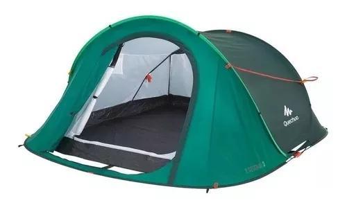 Barraca de camping 2 seconds easy para 3 pessoas verde