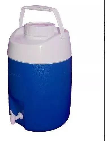 Botijão garrafão térmico 12 litros cantil azul c/