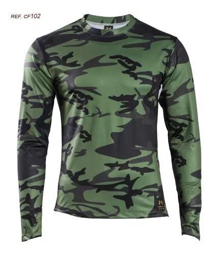 Camisa De Pesca Camuflada Proteção Uv 50+ - Terra Nativa