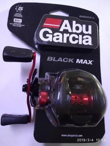 Carretilha abu garcia black max3 !!!! + brinde!!!
