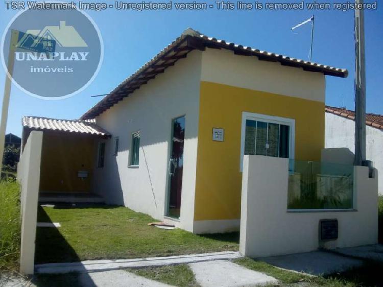 Casa com 1 quarto à venda, 40 m² por r$ 69.900 cod. 109