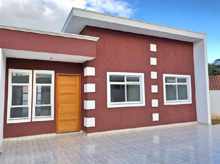 Casa com 3 quartos à venda, 54 m² por r$ 190.000 cod.