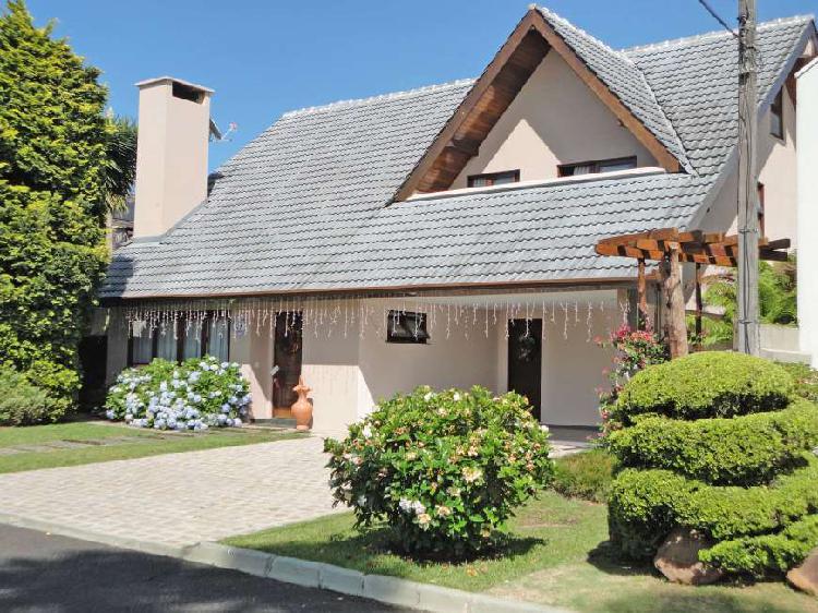 Casa de condomínio com 4 quartos à venda, 317 m² por r$
