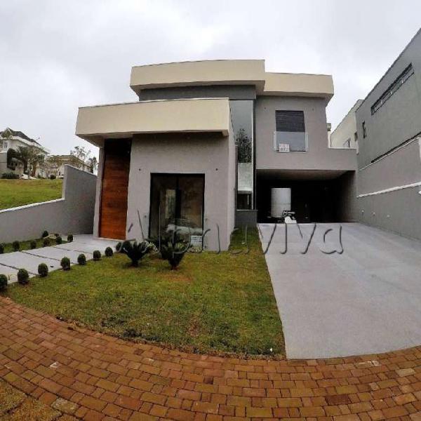 Casa de condomínio com 4 quartos à venda, 357 m² por r$